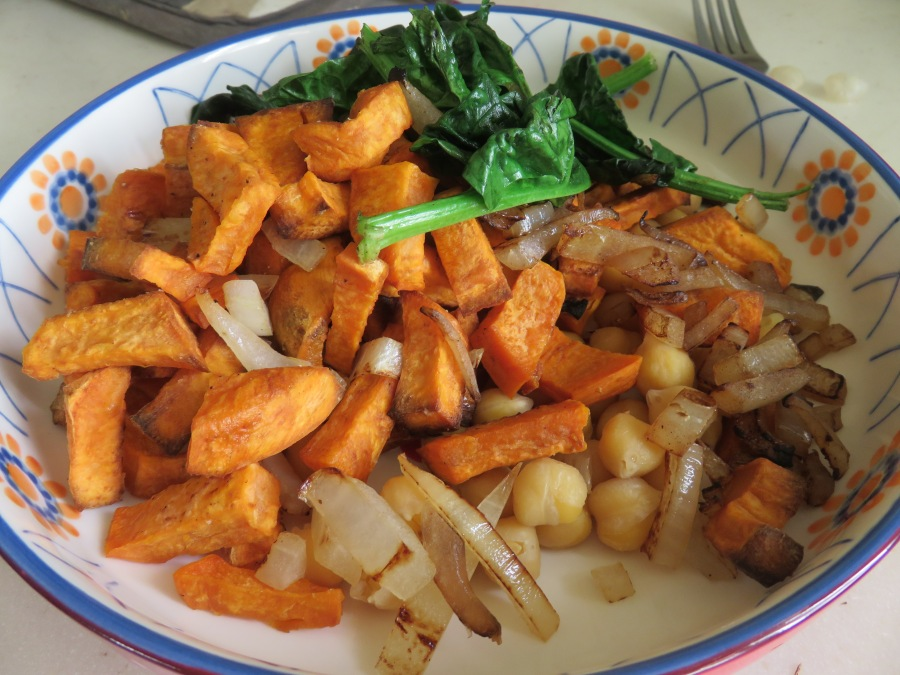 Sweet Potato Hot Salad